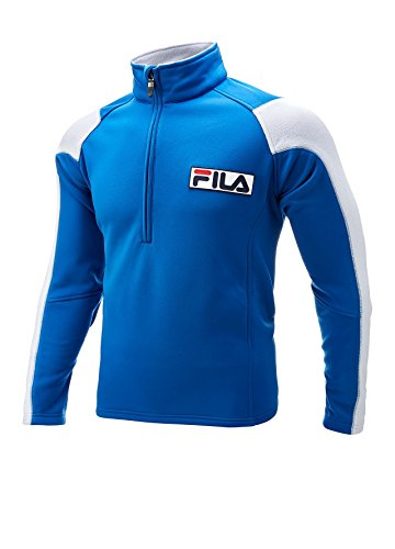 fila-polar-fleece-lined-jacket-blue-white-medium