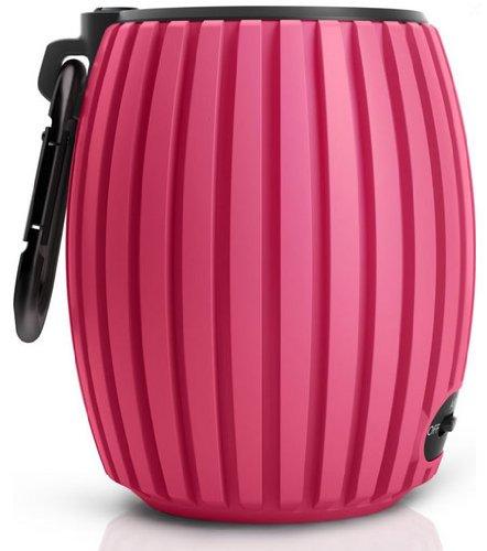 Philips SoundShooter SBT30/00 Bluetooth-Lautsprecher (Freisprechfunktion, Akku für bis zu 8 Stunden Betrieb) Pink