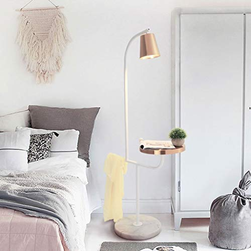 Lampadaires- Nordic design table de rangement lampe de sol en marbre créatif postmoderne minimaliste suspendu grille lampe de table verticale lampe de pêche en bronze jaune