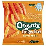 Organix Finger Foods Organic Crunchy Carrot Sticks 20g Case of 8