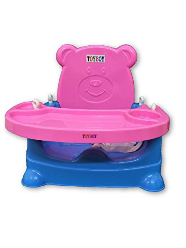 Toyboy Honey Bee 5 In 1 Baby Booster Seat Cum Swing - Pink