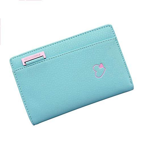 Olydmsky Damen Geldbeutel Geldbörse Candy Farbe niedlich minimalistischen Women Purse Hand Tasche Karte Damentasche