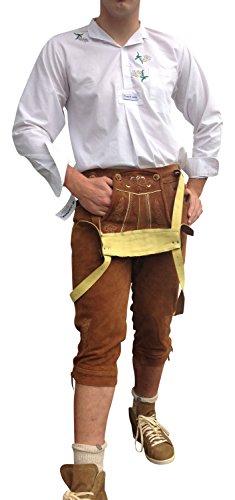 Lederhosen Trachtenhosen Herren Hosen 62 Braun