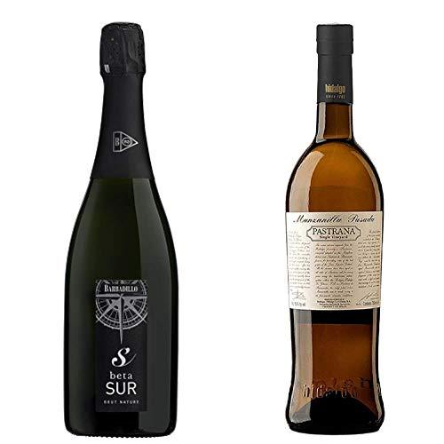 Betasur Y Manzanilla Pasada Pastrana - Vino De La Tierra De Cádiz Y D. O. Manzanilla De Sanlúcar De Barrameda - 2 Botellas De 750 Ml