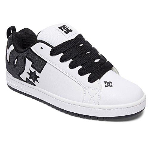 DC Schuhe Court Graffik SE Weiß Gr. 47 (Dc-sportschuhe)