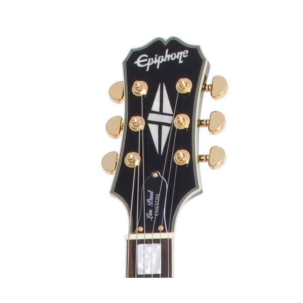 Epiphone ENBBEBGH1 Les Paul Black Beauty 3 Chitarra Elettrica, Ebano