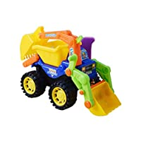 Toyvian Kids Beach Toy Car Sand Truck Simulation Engineering Vehicles Toy
