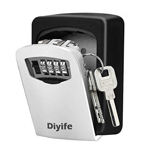 Key Lock Box, [Wall Mounted]O2Buy Combination Key Safe...