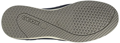 Geox U Avery A, Scarpe Low-Top Uomo Blu (Navy)