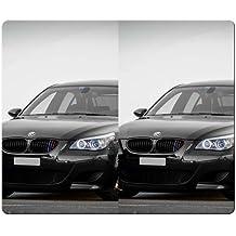 26x 21cm 10x 8inch Gaming alfombrillas a juego preciso gamuza de goma antideslizante antideslizante non-slippery BMW M5E60