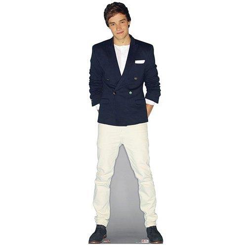 One Direction Party-Marken 'Liam Payne'Größe, Casual Ausschnitt, aus Karton, Lebensgröße (Party One Direction)