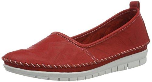 Andrea Conti 0021627, Mocassins Femme Rot (Rot)