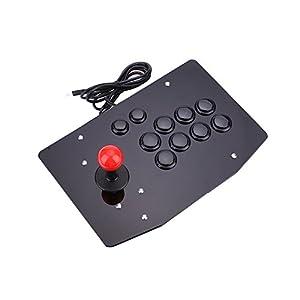 Cewaal USB Arcade Kampf Stick Joystick Gaming Controller Gamepad Videospiel Für PC