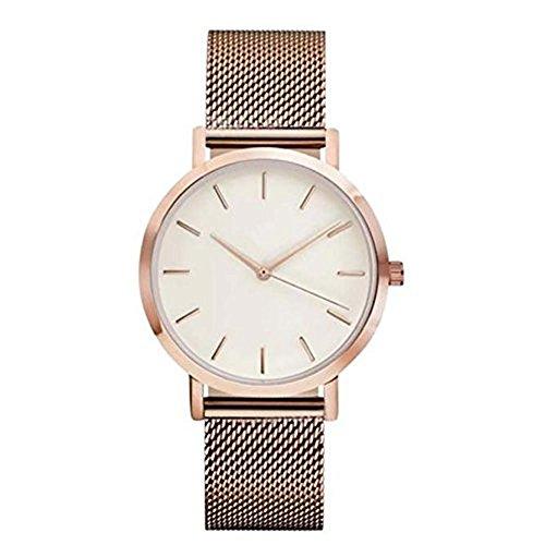 Frauen Armbanduhr, rawdah Analog Quarz Armbanduhr Armband RG