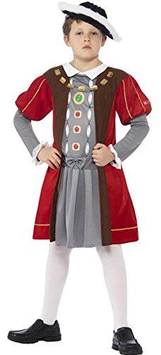 ainBox Horrible Histories-Kinder-Kostüm-Große-Alter 10-12 Von 158 cm Smiffy's (Henry Viii Kostüm Kind)