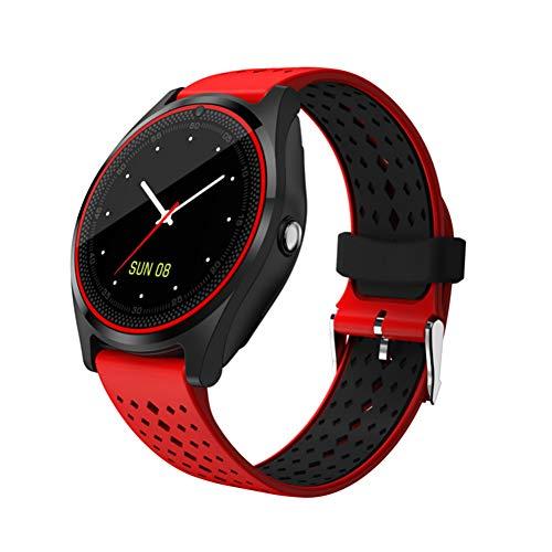 ZLOPV Fitness Armband Smart Watch mit Kamera Bluetooth Smartwatch SIM-Karte Schrittzähler Armbanduhr für Android Phone Wearable Devices -