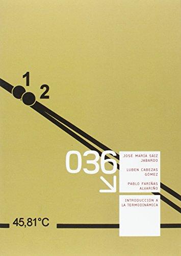 Descargar Libro Introducción a la termodinámica (Manuales) de José María Sáiz Jabardo