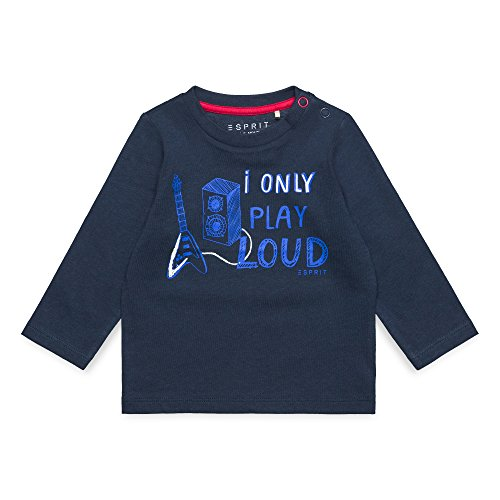 ESPRIT KIDS Baby-Jungen T-Shirt RM1000207, Blau (Deep Indigo 491), 68