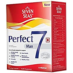 Seven Seas Perfect7 Man - Multivitamin & Multimineral Supplement - Pack of 30