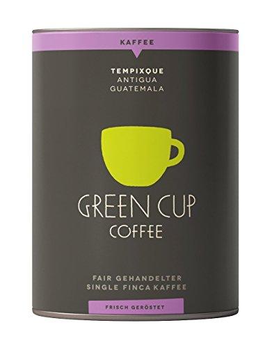 Green Cup Coffee Kaffee Tempixque - Hochlandkaffee aus Guatemala - sortenreine Kaffeebohnen in...