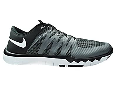 Nike Men's Free Tainer 5. 0 v6 Black/White/Cool Grey Mesh Cross-Trainers Shoes 12. 5 M US