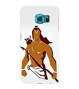 FUSON Prabhu Ram Graphic Painting 3D Hard Polycarbonate Designer Back Case Cover for Samsung Galaxy S6 G920I :: Samsung Galaxy S6 G9200 G9208 G9208/Ss G9209 G920A G920F G920Fd G920S G920T