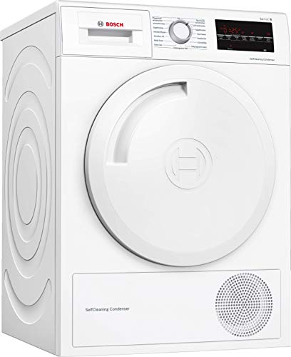 Bosch Serie 6 WTW83462 Freestanding Front-load 7kg A++ White tumble dryer - Tumble Dryers (Freestanding, Front-load, Condensation, White, Rotary, Touch, Right)