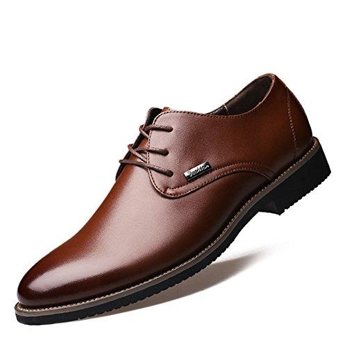 Scarpe da uomo in pelle/Scarpe casual business/Traspirante scarpe d'Inghilterra/ abiti da uomo-B Lunghezza piede=26.3CM(10.4Inch)