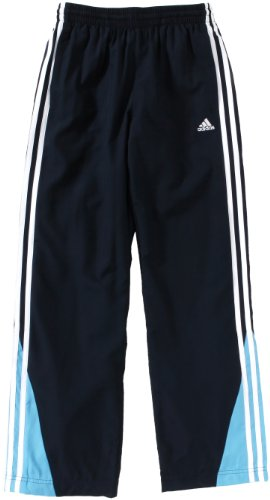 adidas Kinder Trainingshose BTS Woven Oh, DARK NAVY/COLUMBIA BLUE/WHITE, 152 (Columbia Trainingshosen)