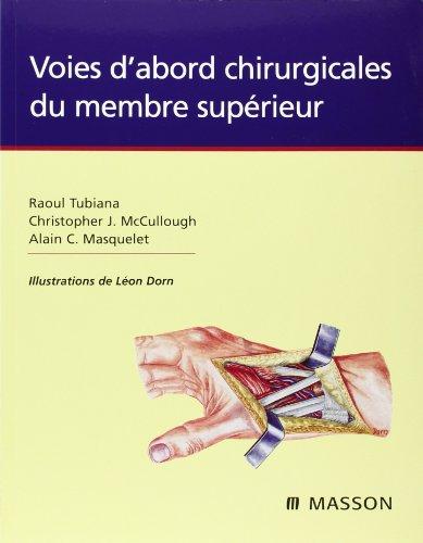 Descargar Libro Voies d'abord chirurgicales du membre supérieur de Tubiana