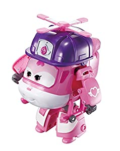 Super Wings Vehículo Transformador | Serie 3 | Rescue Dizzy | Avión | BOT | Figura de 5 Pulgadas, Color Mixto, Talla única (Alpha Group Co, Ltd EU730222)