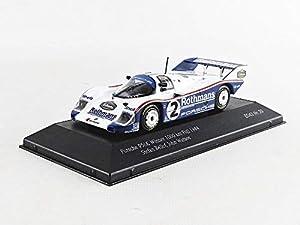 CMR SBC020 - Coche en Miniatura de colección, Color Blanco y Azul