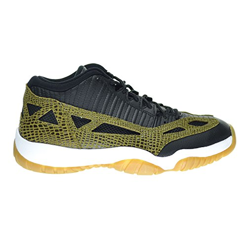 Nike Air Jordan 11 Retro Low, Sandali donna blk/mlt grn-gm yllw-infrrd 23