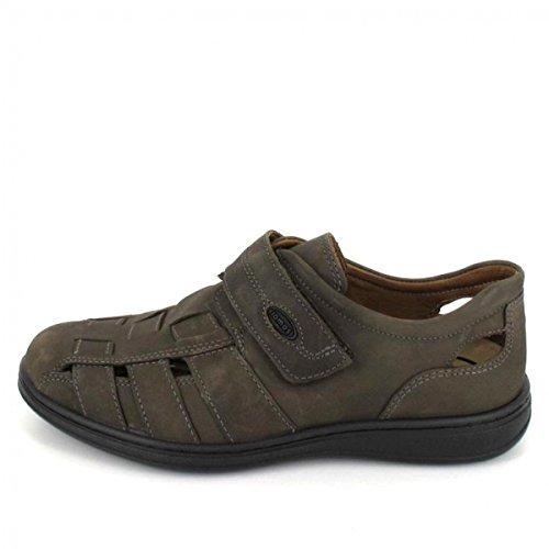 Jomos 463201-12-280, Chaussures de Ville à Lacets Pour Homme Gris