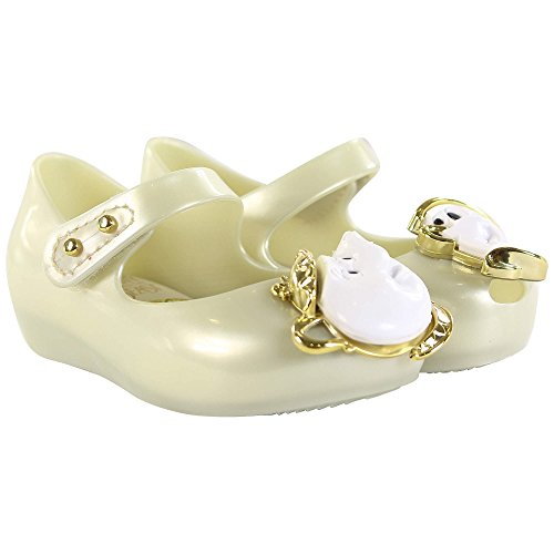 Melissa Infant's Mini Ultragirl 18 Beauty & The Beast Tea Party Pearl-Pearl-6 Size 6