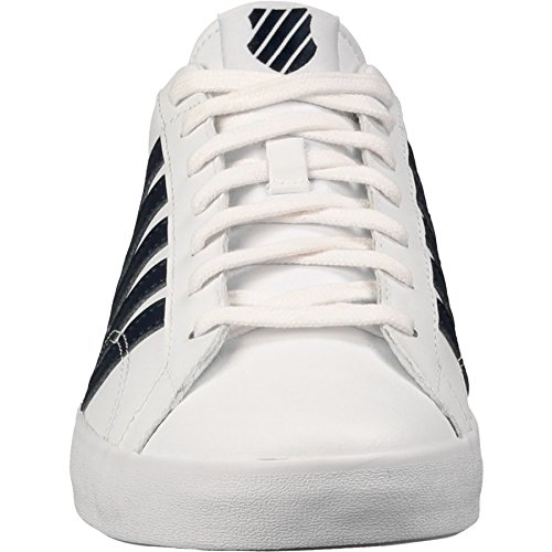 K-Swiss BELMONT SO, Sneakers basses homme Blanc (white/navy 109)