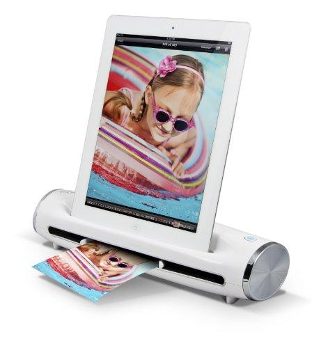 Ion Docs 2 Go, Scanner Documenti e Foto a Sé Stante per iPad, Bianco
