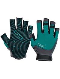 ION Amara Gloves Half Finger Guantes Emerald/Marino, large