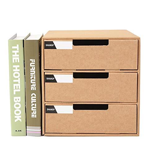 MRCOCO Aufbewahrungsbox Für Papier Faltbar, Schreibwaren, Papier Aufbewahrungsbox, Schule, Einfache Bleistifte, Dokumente, Schreibtisch-Organizer, Büroregal,Schöne Und Praktische Aufbewahrungsbox -