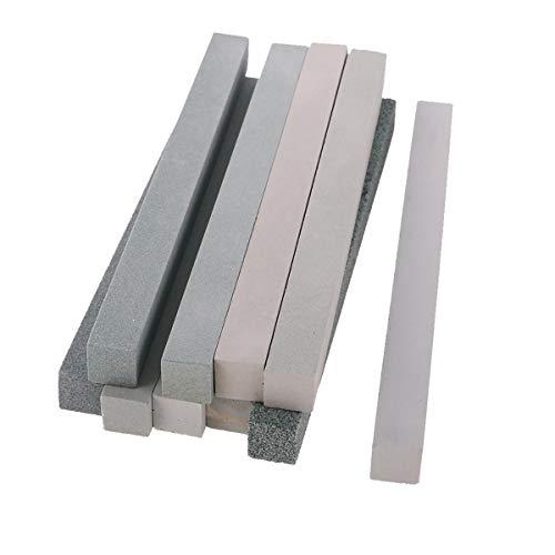 10er Set Messer Schleifstein Wetzstein Abziehstein Schleifstein Schärfen Waterstone Kit Praktisch