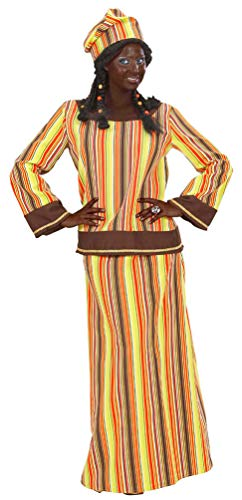 Karneval-Klamotten Afrikaner Kostüm Damen Afrika Kostüm Zulu Kostüm Größe 46/48