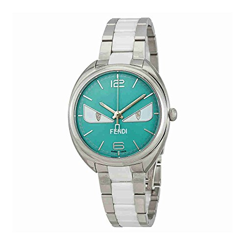 Fendi Momento Turquoise Dial Mens Watch F216033104D1
