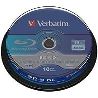 Verbatim 43746 BD-R DL 50 GB 6x - 10 Stück Spindel