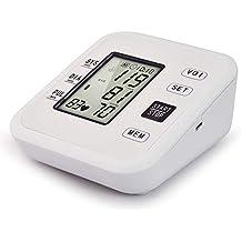 YHMMOO USB Tensiómetro de Brazo Detección de Pulso Arrítmico con Función de Voz y Gran Pantalla