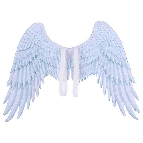 rainnao Halloween Engelsflügel Teufel Flügel Kinderkostüm Cosplay Kostüm Ornament Werkzeug Zubehör Bühnenparty (Engel Und Teufel Kostüm Für Kleinkind)