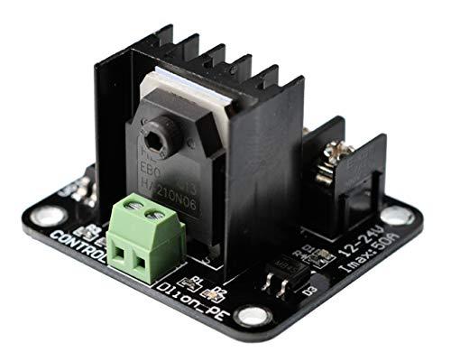 juler Zubehör für 3D-Drucker Hochleistungs-Hot Bed-Modul MOS-Rohr-Leistungserweiterung Hohe Strombelastung Universal,Schwarz,Einheitsgröße