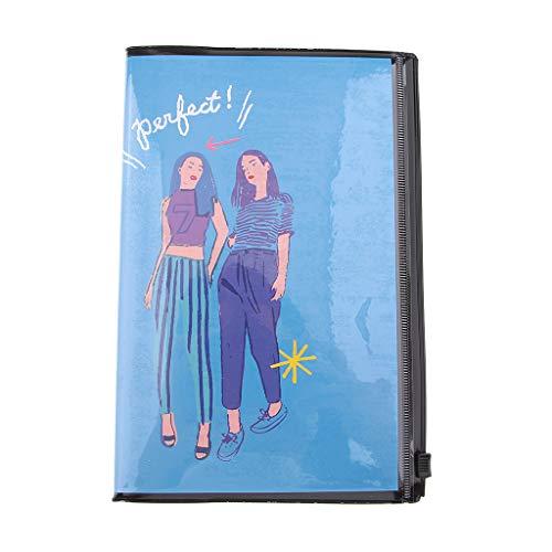 Hellery Tagebuch Reisetagebuch zum selberschreiben Reisenotizen Notizbuch Reise Tagebuch - B