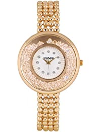 Rabela Women's Analogue White Dial watch RAB-224
