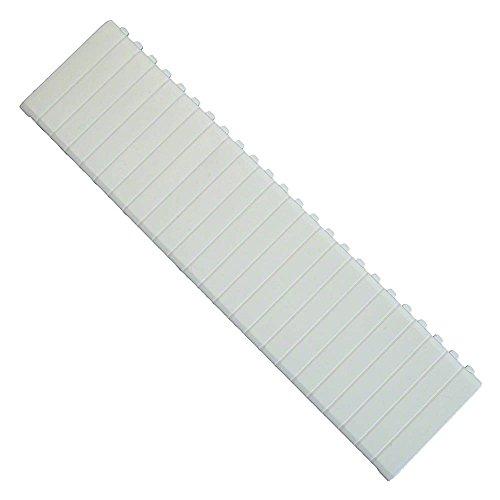 Abdeckstreifen für Verteiler für 12 Modulplätze weiß (Verteiler Abdeckung)