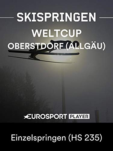 Skispringen: FIS Weltcup 2018/19 in Oberstdorf (Allgäu) (GER) - Einzelspringen (HS 235)